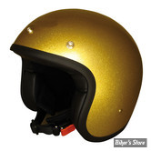 CASQUE JET - DMD - VINTAGE - GLITTER OR - COULEUR : OR PAILLETTE - TAILLE 5 / XL