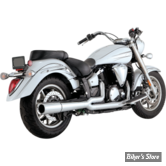 ECHAPPEMENT VANCE & HINES - PRO PIPE - YAMAHA XVS 1300 MIDNIGHT STAR / VSTAR 07UP - CHROME