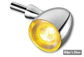 CLIGNOTANT A LEDS -   KELLERMANN - BULLET 1000 EXTREME - 1 FONCTION - FINITION : CHROME
