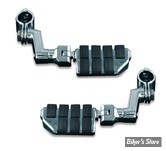 KYN - REPOSES PIEDS - KURYAKYN - OFFSET HIGHWAY PEGS - AVEC REPOSES PIEDS : DUALLY ISO - POUR TUBES DE 1 1/4 - 7993