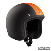 CASQUE JET - BANDIT - RACE - COULEUR : BLACK / ORANGE - TAILLE 4 / L