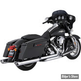 COLLECTEUR TOURING 09/16 - VANCE & HINES DRESSERS DUALS HEADER SYSTEM - CHROME - 16752