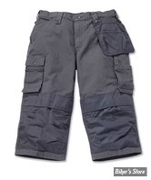 SHORT - CARHARTT - MULTIPOCKET RIPSTOP PIRATE PANT - COULEUR : GRIS - TAILLE 38