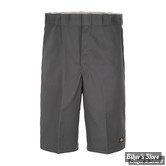 "SHORT - DICKIES - 13"" - MULTI POCKET WORK SHORTS - COULEUR : CHARCOAL GREY - TAILLE 30"