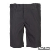 "SHORT - DICKIES - 11"" - SLIM STRAIGHT WORK SHORTS - COULEUR : BLACK - TAILLE 38"