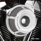 - FILTRE A AIR - ARLEN NESS - TOURING 08/16 / SOFTAIL 16/17 / DYNA FXDLS 16/17 - INVERTED - SLOT TRACK - CHROME - 18-920