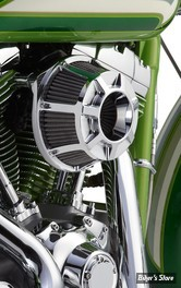 - FILTRE A AIR - ARLEN NESS - TOURING 08/16 / SOFTAIL 16/17 / DYNA FXDLS 16/17 - INVERTED - BEVELLED - CHROME - 18-932