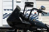 """PARE BRISE - WINDVEST MOTORCYCLE PRODUCTS - FLTR 98/13 - HAUTEUR : 8"""" - COULEUR : NOIR"""