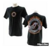 TEE-SHIRT - ORANGE COUNTY CHOPPERS - OCC - AMERICAN CUSTOM - COULEUR : NOIR - TAILLE 3 / M