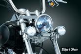 FEUX ADDITIONNELS KURYAKYN - Kit pour fourche de 39mm / 41mm - Frontal - Chrome - 5012