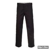 PANTALON - DICKIES - 873 - SLIM STRAIGHT WORK PANTS - COULEUR : BLACK - TAILLE 38/32