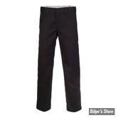 PANTALON - DICKIES - 873 - SLIM STRAIGHT WORK PANTS - COULEUR : BLACK - TAILLE 32/34