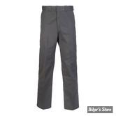 PANTALON - DICKIES - 874 - ORIGINAL WORK PANTS - COULEUR : CHARCOAL GREY - TAILLE 38/32