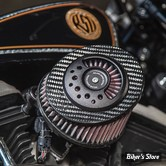 - FILTRE A AIR - ROLAND SANDS RSD - TOURING 08/16 / SOFTAIL 2016UP -  SLANT CARBON AIRCLEANER KIT - CARBON OPS