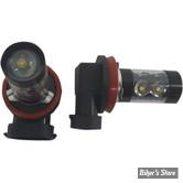 AMPOULE  H8 -  TYPE H8 LED - RIVCO - LA PAIRE