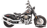 ECHAPPEMENT FREEDOM PERFORMANCE - UPSWEEP SHARKTAIL - SOFTAIL 86/17 - CHROME