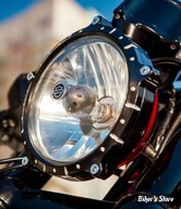 5 3/4  - CERCLAGE DE PHARE EXTERNE - ROLAND SANDS DESIGN - RSD Chrono Headlight Bezel - CHRONO - CONTRAST CUT