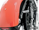CLIGNOTANT A LEDS - ARLEN NESS - BOLT ON - SOFTAIL / DYNA / SPORTSTER 00UP - ARRIERE - ECLAIRAGE ORANGE - CHROME - 12-743