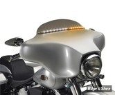 BAGUETTE DE PARE BRISE - - AVEC ECLAIRAGE - TOURING 96/13 - CYCLE VISIONS - ECLAIREE - ELECTRA LIGHT TRIM - FINITION : CHROME / ECLAIRAGE : BLANC