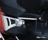 ACCOUDOIRS POUR PASSAGER - KURYAKYN - TOURING 2004UP / TRIKE HD 2014UP - Passenger Armrests - CHROME - 8955