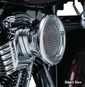 - FILTRE A AIR - KURYAKYN - TOURING 08/16 / FXDLS 16UP / SOFTAIL 16UP - VELOCIRAPTOR - CHROME - 9513