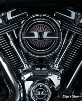 - FILTRE A AIR - KURYAKYN - BAHN AIR CLEANER - SOFTAIL 99/15 / DYNA 99/17 / TOURING 99/07 - FINITION : TUXEDO - 9586