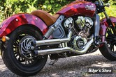 SILENCIEUX KURYAKYN - CRUSHERS / MAVERICK - INDIAN SCOUT - 624 - CHROME