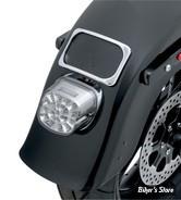 - FEU AR - HD 99UP - OEM 68296-99 - A LED - TYPE LAYDOWN - DRAG SPECIALTIES - AVEC ECLAIRAGE DE PLAQUE EN HAUT - CABOCHON FUME