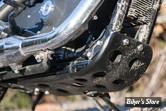 Sabot de protection carter-moteur de LeBeeF - Sportster 2004up - Noir Epoxy