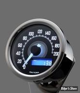 -  VELONA - COMPTEUR VELONA / DAYTONA - 60MM ELECTRONIC SPEEDOMETER - GRADUATION / 200 KMH - INOX/ LED BLANC - 85833