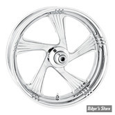 AR - 18 X 3.50 - ROUE PERFORMANCE MACHINE  - SOFTAIL M8 FLHC/S, FLSL FXLR, FLDE, FXBB, FXFB, FLSB 18UP - FLST11/17 - ABS - ELEMENT - CHROME