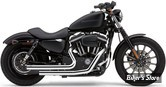 ECHAPPEMENT COBRA - DRAGSTERS SHORT - SPORTSTER 07/13 - CHROME