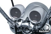 KIT AUDIO - KURYAKYN - Road Thunder Speaker Pods and Bluetooth Audio Controller by MTX - COULEUR : CHROME - 2712