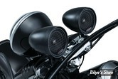 KIT AUDIO - KURYAKYN - Road Thunder Speaker Pods and Bluetooth Audio Controller by MTX - COULEUR : NOIR SATIN - 2713