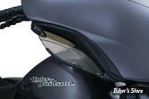 DEFLECTEURS DE CARENAGE - KURYAKYN - ADJUSTABLE FAIRING AIR DEFLECTORS - FLH/FLHX 14UP - MONTAGE NOIR SATIN - 1247