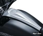 DASH PANEL - TOURING 08UP - KURYAKYN - Signature Series Smooth Dash Console By Jim Nasi - CHROME - 5688