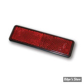 REFLECTEUR / CATADIOPTRE - B-SEEN - RECTANGLE 94MM X 28MM - ROUGE