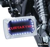 PLAQUE LATERALE KURYAKYN - CURVED NOVA HORIZONTALE - CHROME - 3192