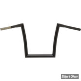 "GUIDON Z-BAR STYLE - GUIDON TODDS CYCLES - STRIP - 32MM - 14"" - NOIR BRILLANT"