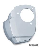 CACHE CORPS D'INJECTION - KURYAKYN - TOURING MILWAUKEE-EIGHT® 17UP - Precision™ Throttle Servo Motor Cover - CHROME - 9340