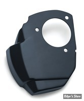 CACHE CORPS D'INJECTION - KURYAKYN - TOURING MILWAUKEE-EIGHT® 17UP - Precision™ Throttle Servo Motor Cover - NOIR SATIN - 9341