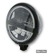 """5 3/4 - PHARE LED - HIGHSIDER - Bates Style Type 5 Headlamp, 5 3/4"""" - ECLAIRAGE LED - NOIR"""