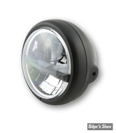 5 3/4 - PHARE LED - HIGHSIDER - Pecos Type 5 Headlamp - ECLAIRAGE LED - NOIR - MONTAGE LATERAL