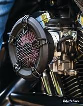 KIT FILTRE A AIR KURYAKYN - XLH 91/06 - CRUSHER REVOLT AIR CLEANER - FINITION : NOIR SATIN - 9624