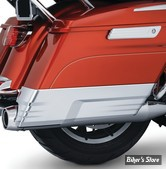 EXTENSIONS DE SACOCHES RIGIDES - KURYAKYN  - FLHT 14UP - Speedform Saddlebag Extensions - CHROME - 7190