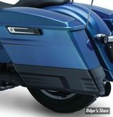 - EXTENSIONS DE SACOCHES RIGIDES - KURYAKYN  - FLHT 14UP - Speedform Saddlebag Extensions - NOIR BRILLANT - 7191
