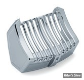 CACHE RADIATEUR - TOURING 17UP Milwaukee-Eight® - KURYAKYN - PRECISON OIL COOLER COVER - CHROME - 6417