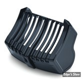 CACHE RADIATEUR - TOURING 17UP MILWAUKEE-EIGHT® - KURYAKYN - PRECISON OIL COOLER COVER - NOIR BRILLANT - 6418