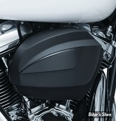 CACHE FITRE A AIR - KURYAKYN - TOURING MILWAUKEE-EIGHT® 17UP - SPEEDFORM AIR CLEANER COVER - NOIR SATIN - 9965