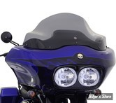 "PARE BRISE - KLOCK WERKS - FLARE WINDSHIELD - TOURING 98/13 - HAUTEUR : 12"" - COULEUR : DARK SMOKE"